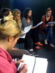 Rehearsal read throughs