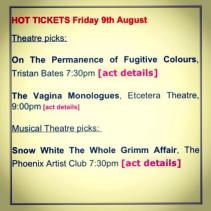 Hot Pick for this years fringe!