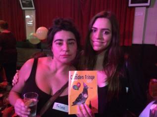 Camden Fringe Launch Party : Telma Rocha & MUA Meghan Evely