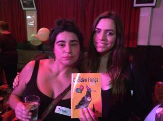 Camden Fringe Launch Party : Telma Rocha & MUA Meghan Evely